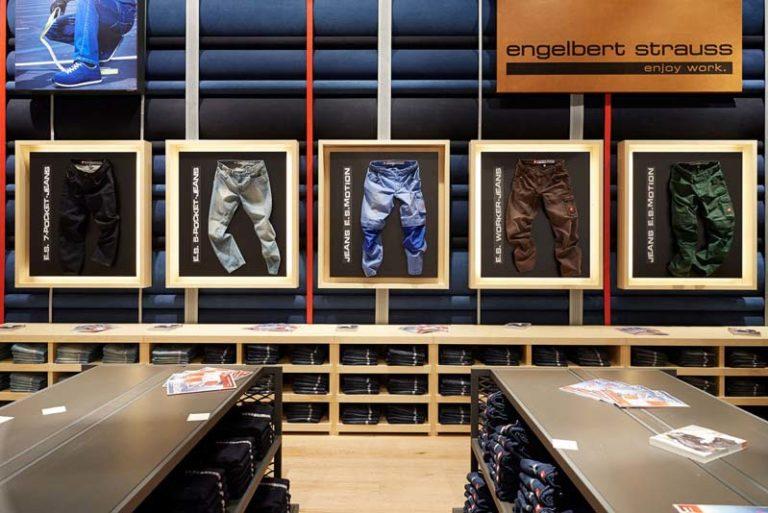 Flatshipstore van Engelbert Strauss in Oberhausen