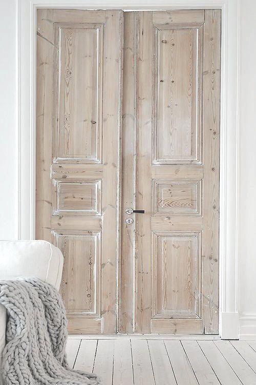 Franse deuren naar de slaapkamer