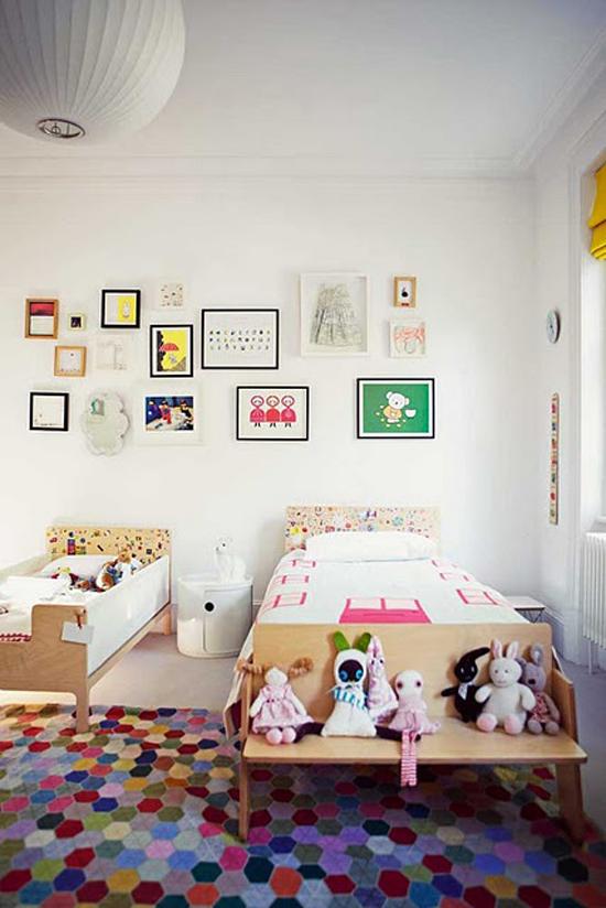 gedeelde kinderkamer idee n wooninspiratie. Black Bedroom Furniture Sets. Home Design Ideas