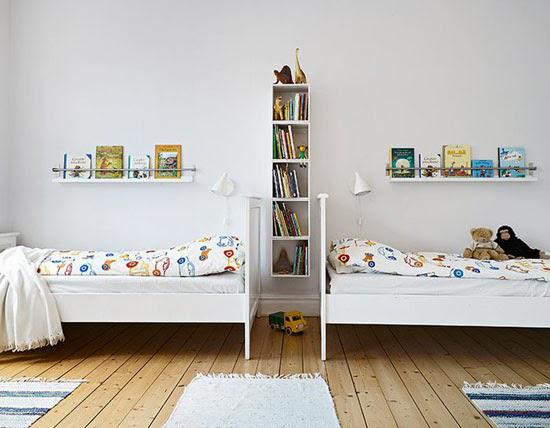 Babykamer Tweeling Ideeen : Tweeling ledikant zoals gebruikt op van het merk esdoorn in goede