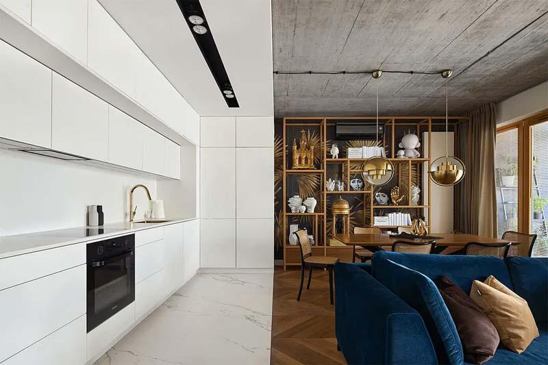 geometry appartement chic klassiek interieur