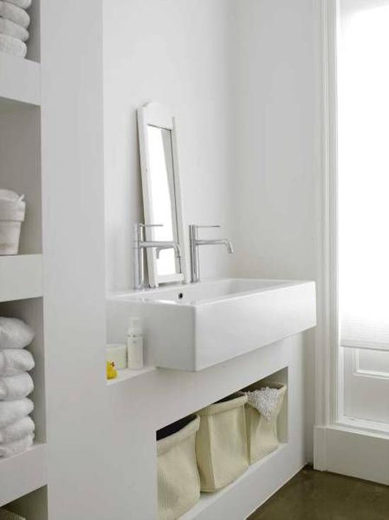 Gestucte muren in de badkamer wooninspiratie for Fotos wc hangen tegel