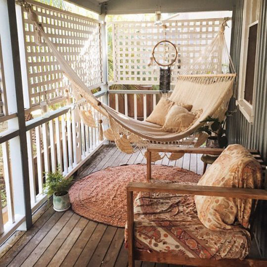 Second Home Decorating Ideas: Gezellige Veranda