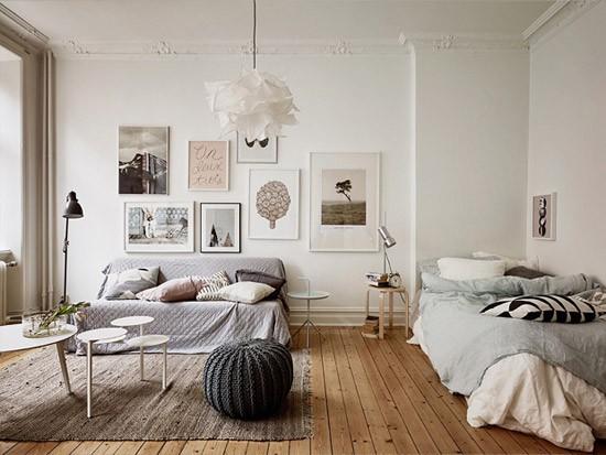 Gezellige woon/slaapkamer | Wooninspiratie