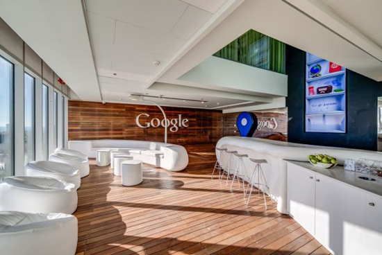 Inrichting van google kantoor in tel aviv wooninspiratie for Interior design companies in usa