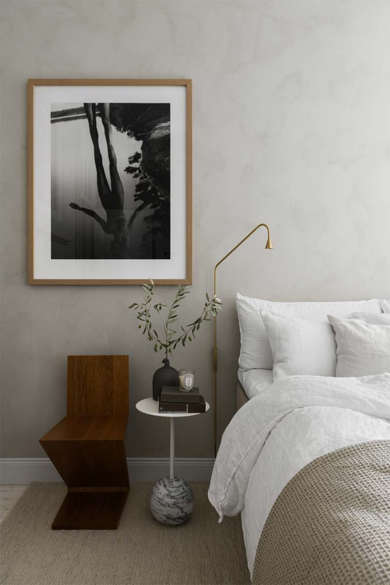 gouden wandlamp slaapkamer