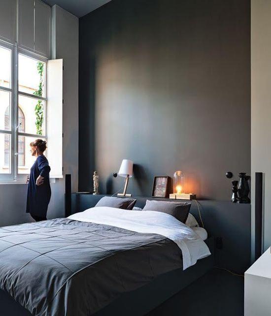 grijs slaapkamer – artsmedia, Deco ideeën
