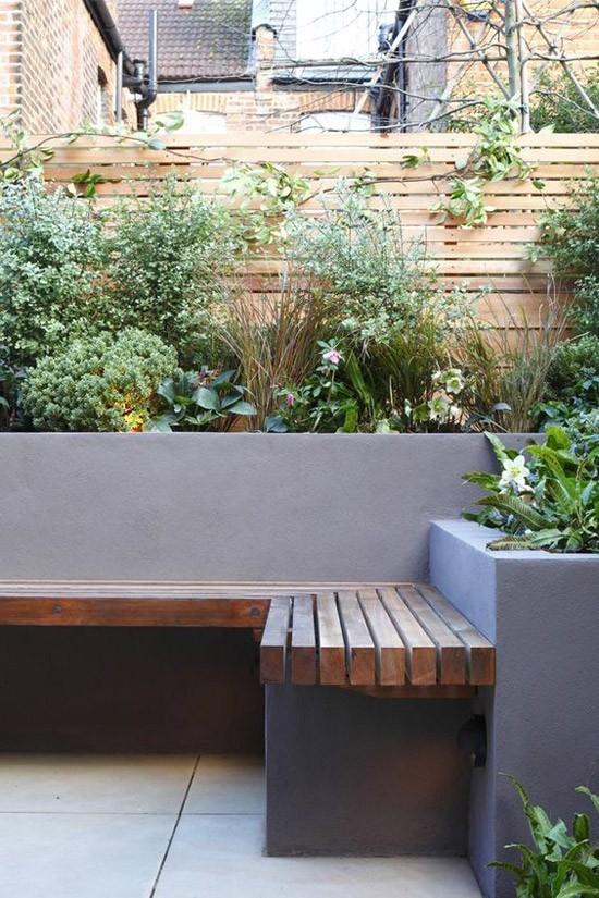 Grijze wanden tuin  Wooninspiratie