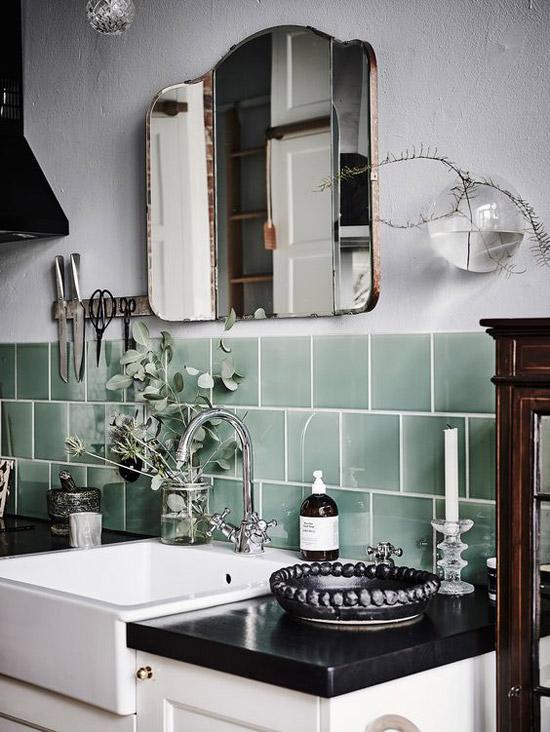 groene-tegels-in-de-keuken-2