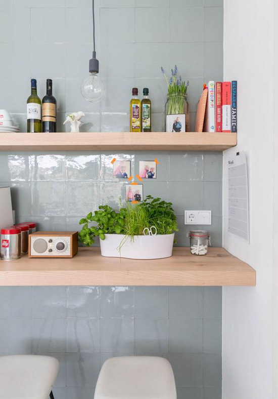 Genoeg Groene tegels in de keuken | Wooninspiratie #HE76