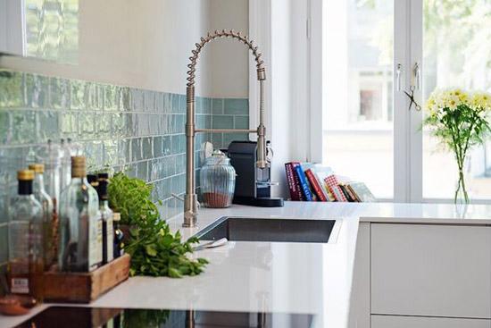 Tegels Keuken Scandinavisch : Groene tegels in de keuken wooninspiratie