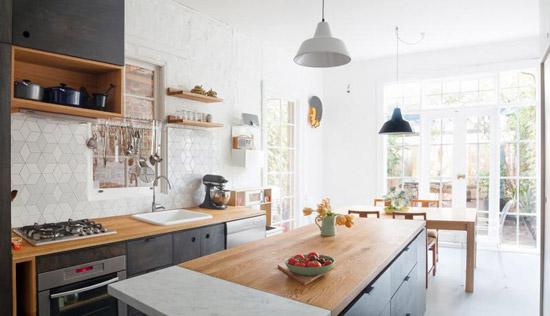 Grote Keuken Tegels : Grote speelse keuken Wooninspiratie