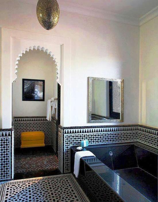 Je badkamer in echte hammam stijl  Wooninspiratie