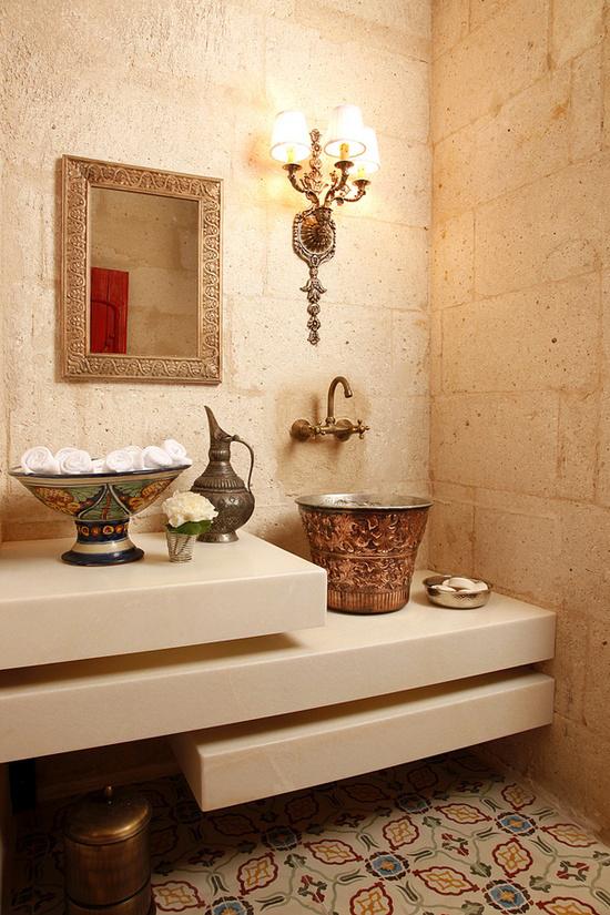 Je badkamer in echte hammam stijl