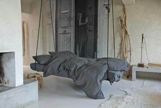 Hangbed voor de slaapkamer