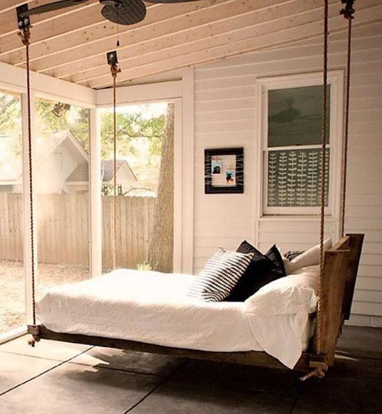 Hangbed voor de slaapkamer | Wooninspiratie