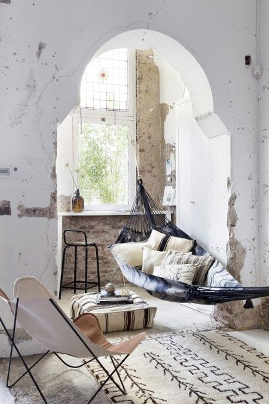 Hangmat in huis