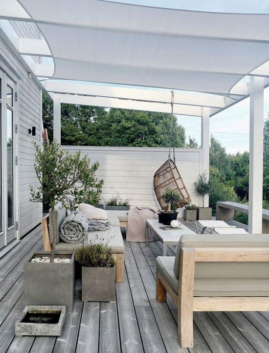 Heerlijk genieten van je tuin met een veranda