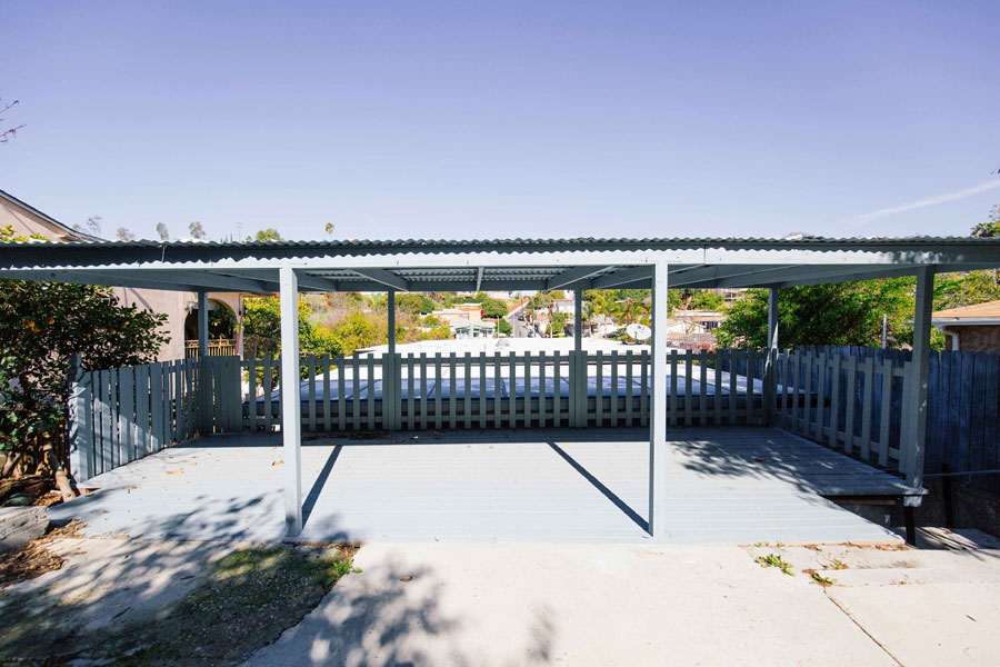 Het inspirerende bohemian terras in de tuin van Dabito