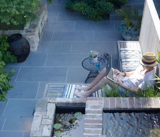Hoe richt je een kleine tuin het beste in wooninspiratie for Kleine stadstuin ideeen