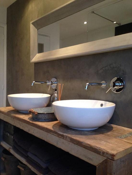 Houten badkamer meubel wooninspiratie - Houten meubels voor badkamers ...