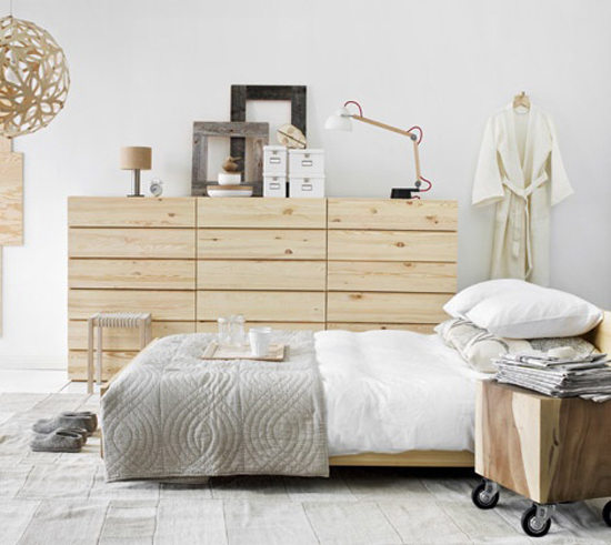 Hout en wit de perfecte combinatie wooninspiratie - Home decoration slaapkamer ...