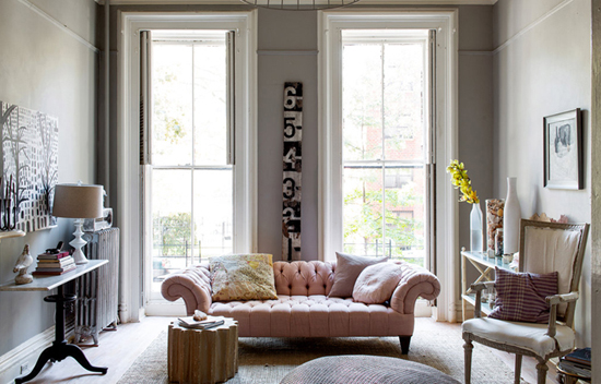 Huis inrichting van hilary robertson wooninspiratie for Living room brooklyn