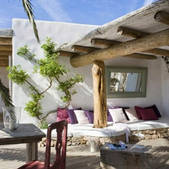 Ibiza in de tuin