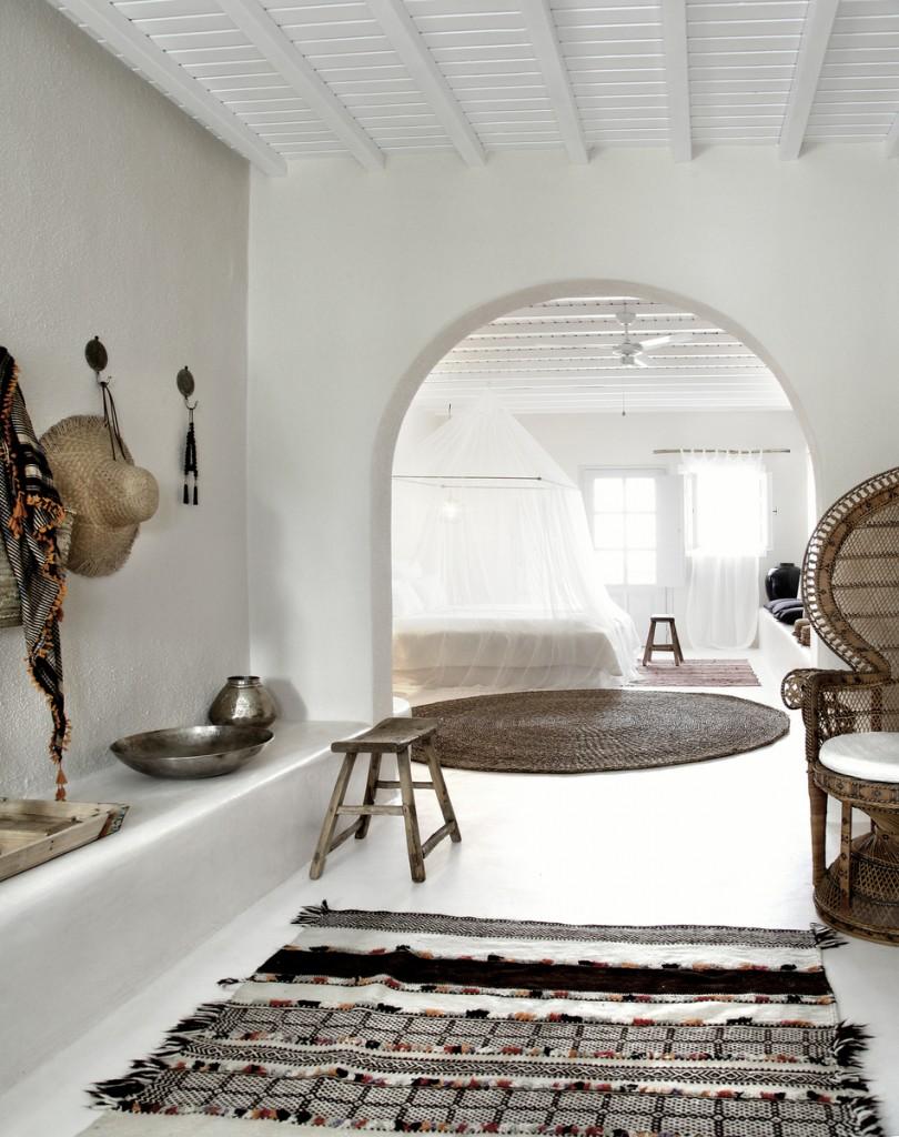 ibiza style interieur wit