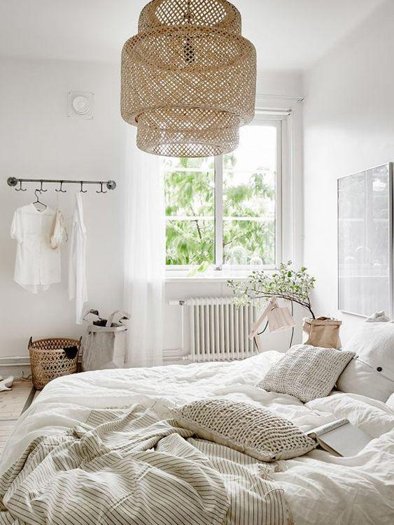IKEA bamboe hanglamp