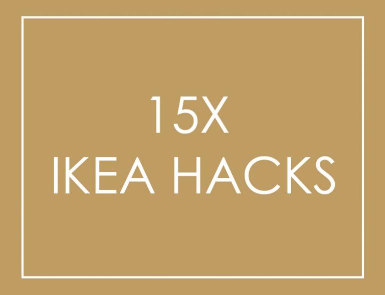Ikea Zwart Leren Bank.15x Ikea Hack Wooninspiratie