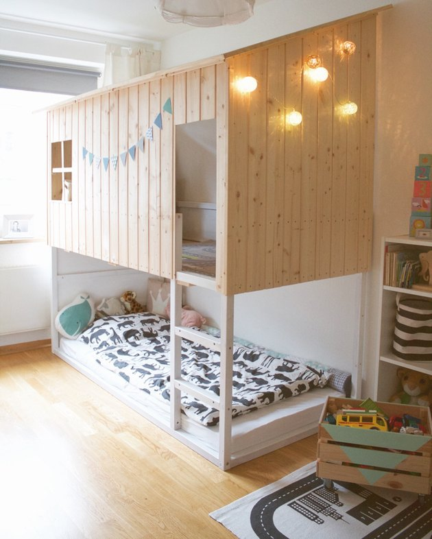 IKEA hack kura huisbed