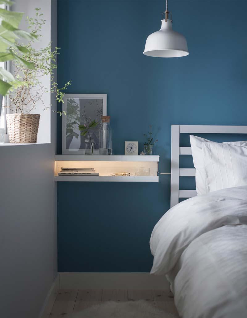 IKEA hack MOSSLANDA nachtkastje