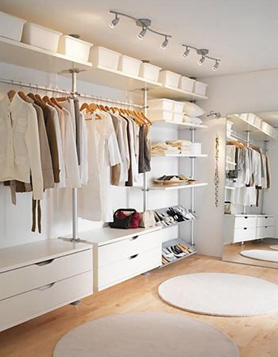 Ikea open kledingkasten : Wooninspiratie