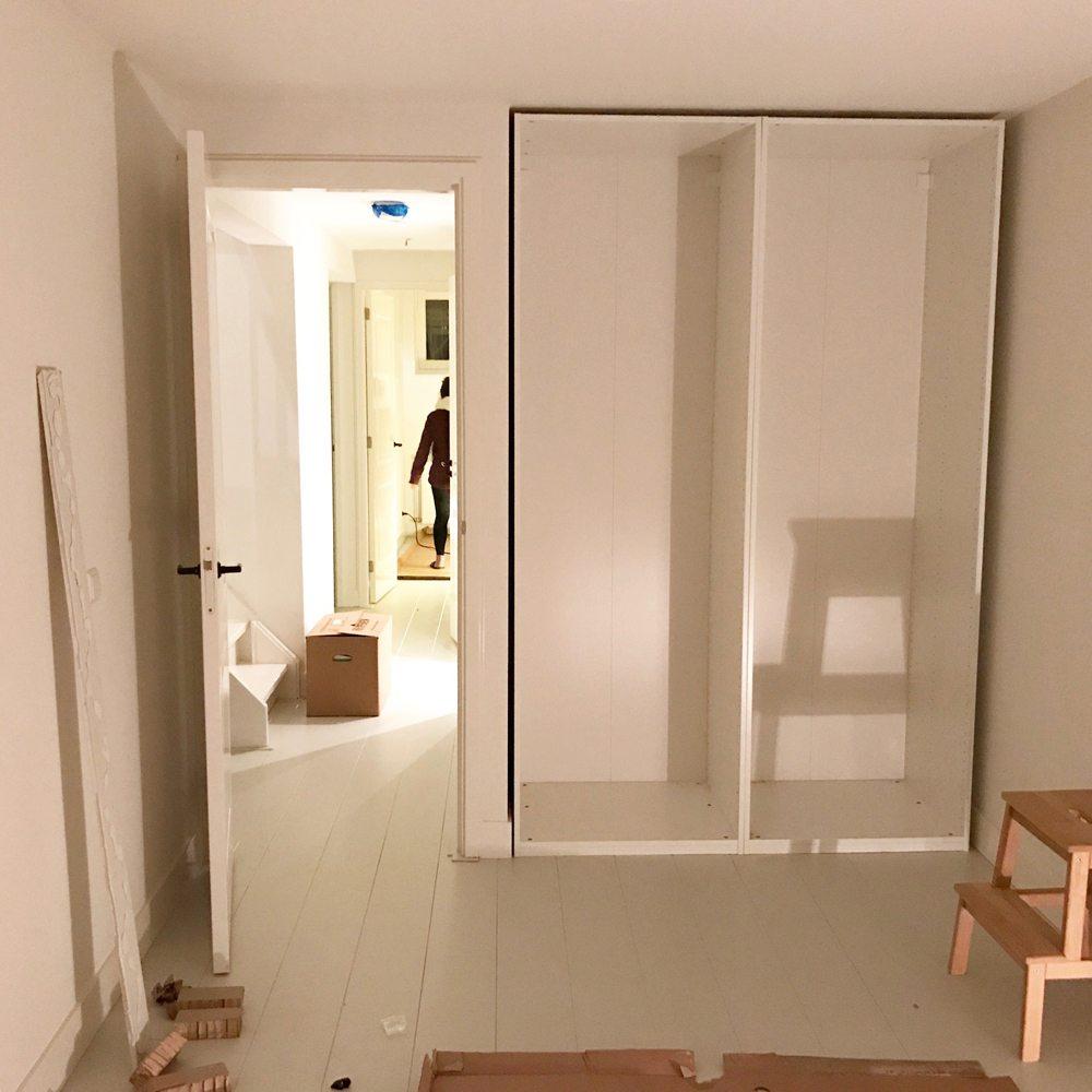 Inbouwkasten maken met de kasten van IKEA