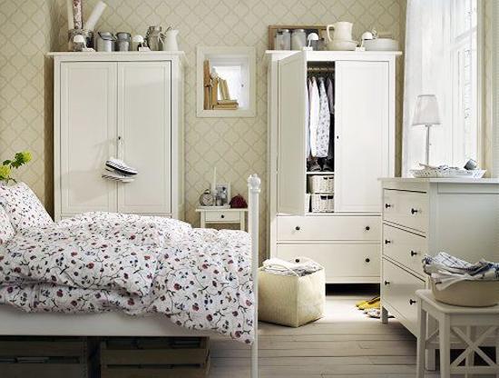 ikea kleine slaapkamer ideeen : Een kleine slaapkamer inrichten Jen ...