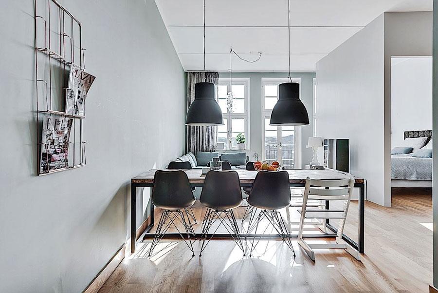 In dit appartement is een extra slaapkamer open een hele leuke manier gecreëerd!