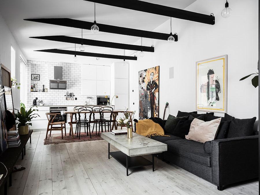 Interieur Ideeen Com.In Dit Kleine Appartement Van 52m2 Vind Je De Leukste Interieur