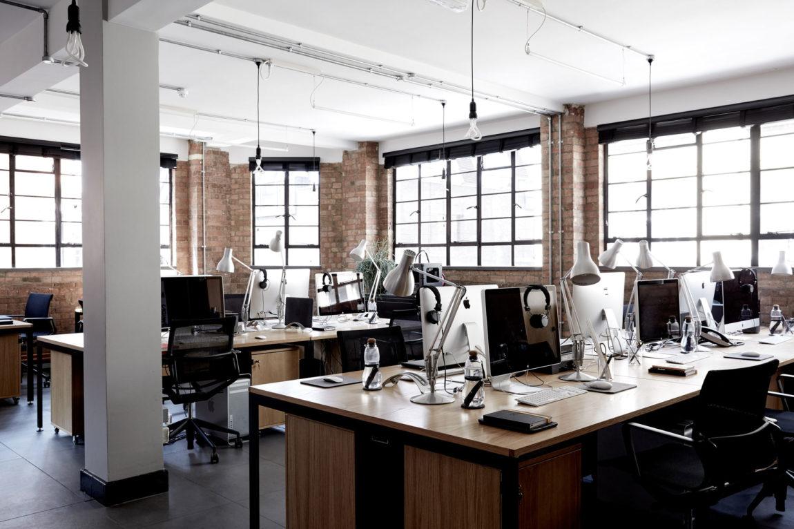 Industrieel knus kantoor van Four23