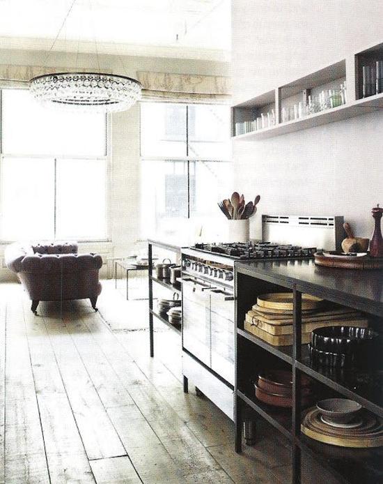 8 keukens met een industri le look wooninspiratie - Keuken industriele loft ...