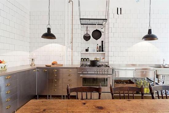 Keukens met een industriële look wooninspiratie