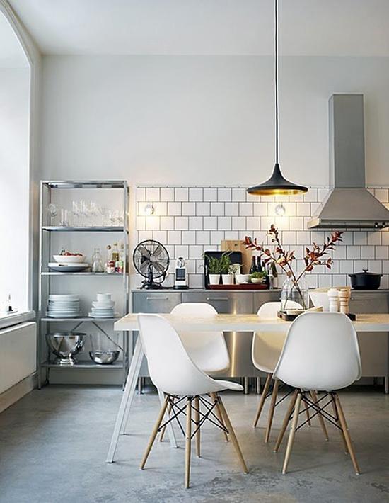 8 keukens met een industriële look