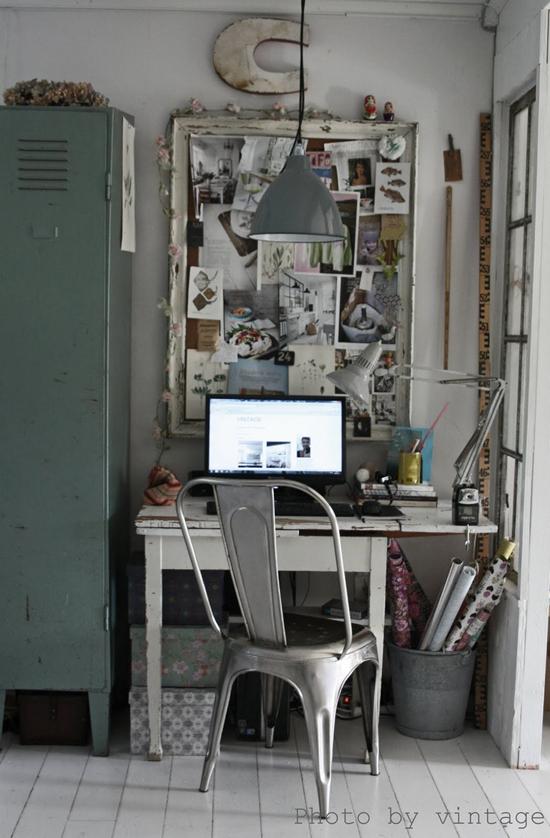Een Stoere Werkplek Thuis Inrichten   Wooninspiratie