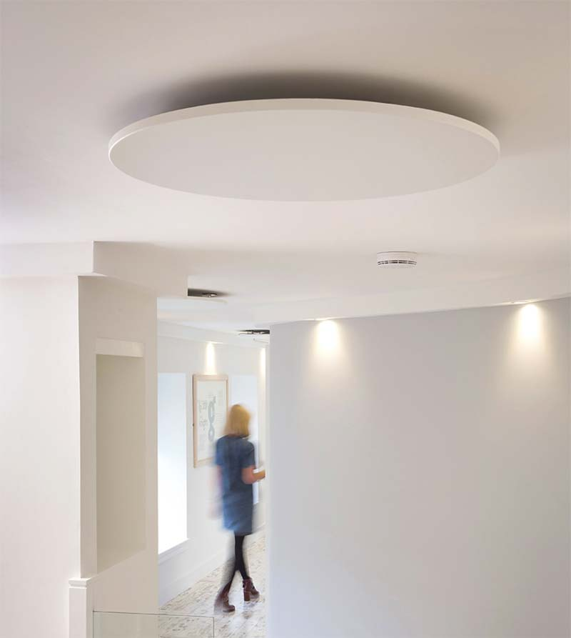 infrarood verwarming paneel plafond