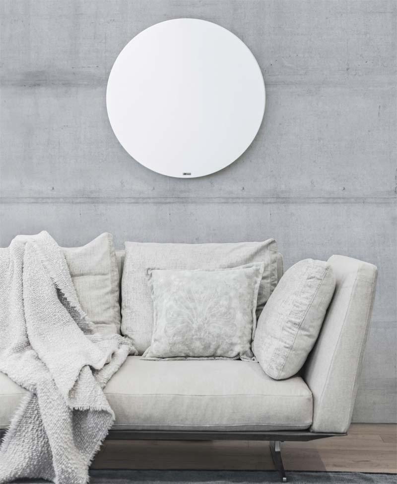 infrarood verwarming paneel rond woonkamer