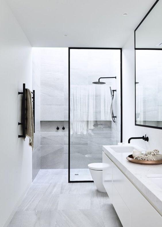 Inloopdouche in badkamer