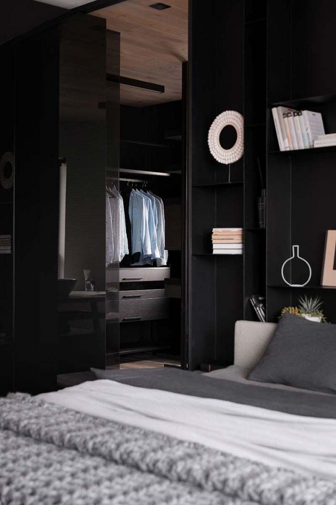 inloopkast in slaapkamer