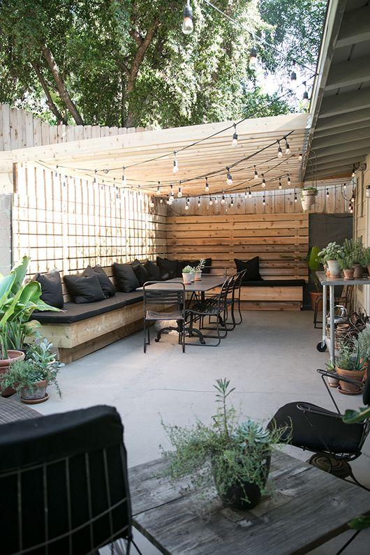 Het inrichten van je terras wooninspiratie for Terras modern huis