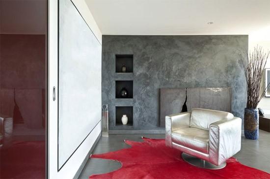 Geef je muur een betonlook voor een rustieke uitstraling roomed