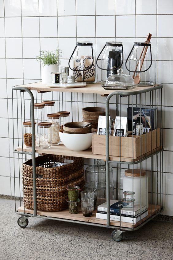 Inspiratie & ideeën voor een trolley in huis!